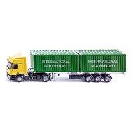 Siku Super - LKW kamion se 2 kontejnery - Kovový model