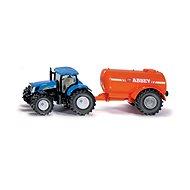 Siku Farmer - Traktor s cisternou - Kovový model