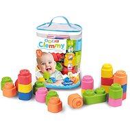Clementoni Clemmy baby - 24 kostek v plastovém pytli - Auto