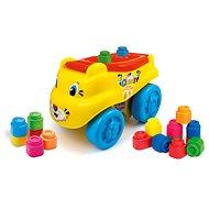 Clementoni Clemmy baby - Tygr vagón s kostičkami - Auto