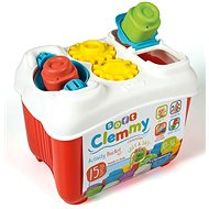 Clementoni Clemmy Baby - Activity Bucket with Push-in Blocks - Educational Toy