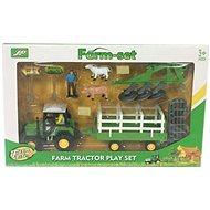 Farmářský set Traktor s valníkem