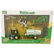 Farmářský set Traktor s cisternou - Herní set
