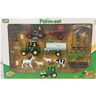 Farmářský set se zvířátky a traktory - Herní set