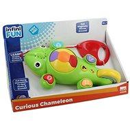 Zvukový chameleon - tahací - Interaktivní hračka