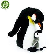 Rappa Plyšový tučňák s mládětem - Plyšák