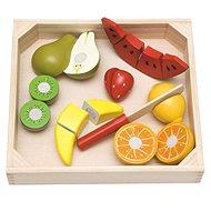 Woody Krájení na prkénku - ovoce s melounem - Didaktická hračka