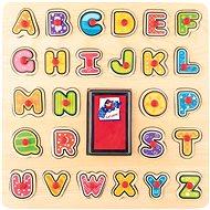 Woody Razítka/Puzzle ABC - Didaktická hračka