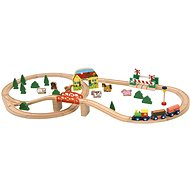 Woody 'Happy Engine', 45 pcs - Train Set