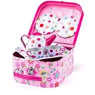 Woody Piknik košík s čajovou soupravou, 8 ks - Dětské nádobí