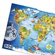 Kouzelné čtení - Puzzle Svět - Kniha pro děti