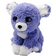 Hřejivé Šťěňátko fialové - Plyšová hračka