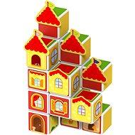 Geomag Magicube Hrady a domy - Magnetická stavebnice