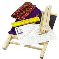 B-Toys Tabule na kreslení na stojanu Easel Does It - Tabule