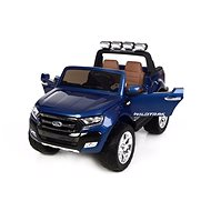 Ford Ranger Wildtrak 4x4 LCD Luxury, painted blue - Children's electric car