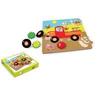 Scratch Pohyblivé puzzle Farma - Kreativní hračka