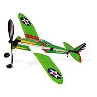 Scratch Vrtulové stíhací letadlo na gumu - Letadlo