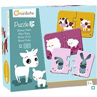 Puzzle Avenue Mandarine Duo puzzle Maminka a mládě