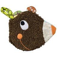 Ebulobo Látková knížka Medvídek - Textilní hračka