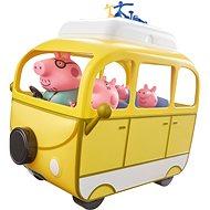 Peppa Pig - Caravan with accessories + 4 figures - Game Set