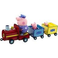 Peppa Pig - Train + 3 figures - Game Set