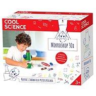 Cool Science Mikroskop 30× - Dětský mikroskop