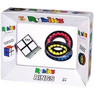 Rubikova kostka 2×2 + skládanka prsteny - Hlavolam