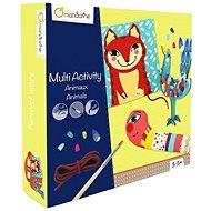 Avenue Mandarine Velký kreativní box Malování, Prošívání, Lepení - Kreativní sada