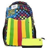 Pixie Batoh s penálem barevná deska - Školní set