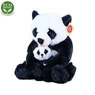 Rappa Panda S Mládětem, 27 cm - Plyšák