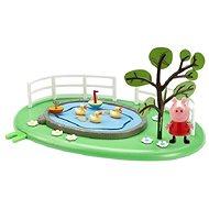 Prasátko Peppa - Rybníček s figurkou - Herní set