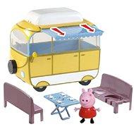 Prasátko Peppa - kempingový vůz Peppy + figurka - Herní set