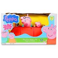 Prasátko Peppa - rodinné auto s figurkami - Herní set