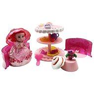 Cupcake sada Dort růžová