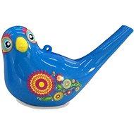 Zpívající vodní ptáček Aqua Bird II modrý - Figurka