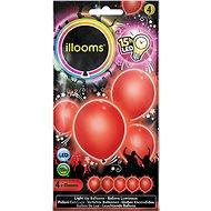 LED balónky - červené 4 ks - Herní set