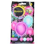 LED balónky - dívčí 4 ks