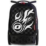Nikidom Roller XL White Fire - Školní batoh