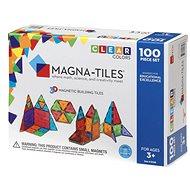 Magnetická stavebnice Magna-Tiles 100 průhledná