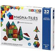 Magnetická stavebnice Magna-Tiles 32 průhledná