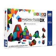 Magnetická stavebnice Magna-Tiles 48 průhledná