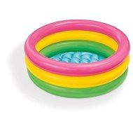 Intex Bazének dětský tříbarevný 61x22 cm - Nafukovací bazén