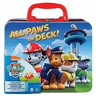 Tlapková patrola Puzzle v plechovém kufříku - Puzzle