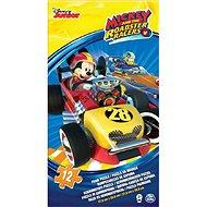 Pěnové puzzle Mickey a závodníci - Pěnové puzzle