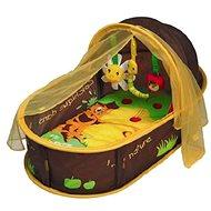 Ludi Cestovní postýlka pro miminko Nomad hnědá - Hnízdo pro miminko