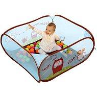 Ludi Hrací ohrádka s míčky Sova - Dětský nábytek