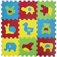 Ludi 84x84 cm Zvířátka Basic - Pěnové puzzle