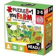 Puzzle 8+1 Moje farma