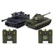 Jamara Panzer Tiger Battle Set 1:28 2,4GHz  - RC auto na dálkové ovládání