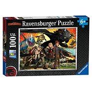 Ravensburger 109180 Jak vycvičit draka: Dračí přátelé  - Puzzle